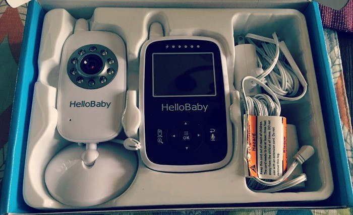 Hello Baby Wireless Video Baby Monitor with Digital Camera