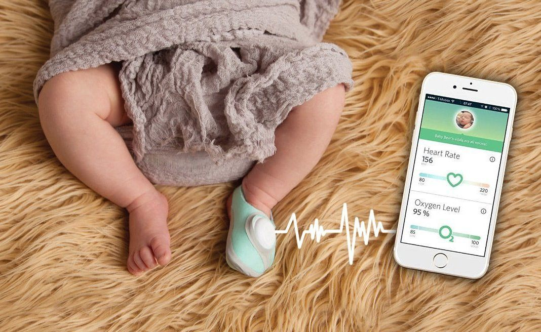 Infant Heart Rate and Oxygen Monitor