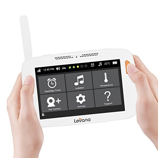 Levana Alexa 5-inch LCD Video Baby Monitor