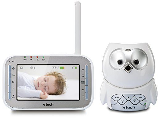 VTech Safe & Sound Owl Digital Video Baby Monitor