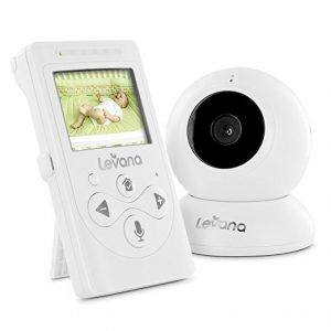 Levana Lila Digital Video Baby Monitor with Talk to Baby Intercom: $70